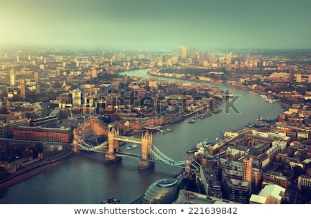 london city at the night time stock photo © andreykr