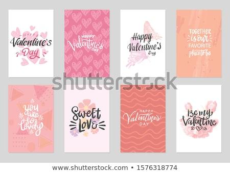 Valentine's Day Theme Stock photo © trinochka