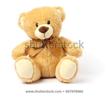 Pink teddy bear isolated on white background stock photo © teerawit