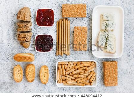 Salado pan alimentos madera queso Foto stock © Digifoodstock