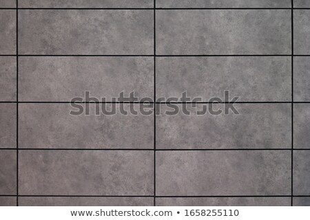 Gris cerámica cuadros primer plano edificio trabajo Foto stock © OleksandrO