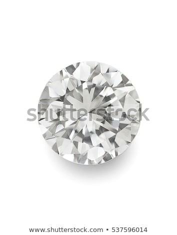 Large Diamonds and gemstones isolated white Stock photo © Arsgera