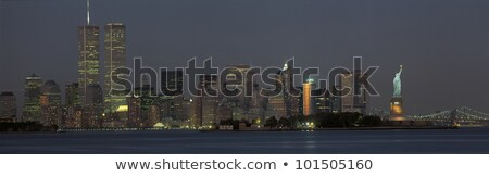 twin towers at sundown stock photo © mayboro1964