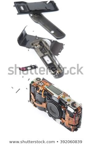 ポケット 映画 カメラ 孤立した 印刷 ストックフォト © photohome