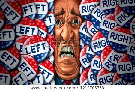 amerikai · választás · stratégia · verekedés · politikai · nyitva - stock fotó © lightsource