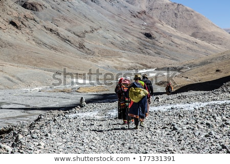 montanhas · ocidental · tibete · nuvens · natureza · viajar - foto stock © tomistajduhar