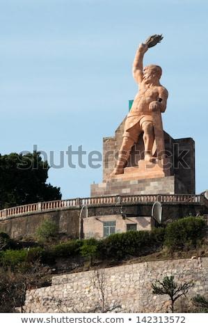 el pipila statue guanajuato mexico stock photo © billperry