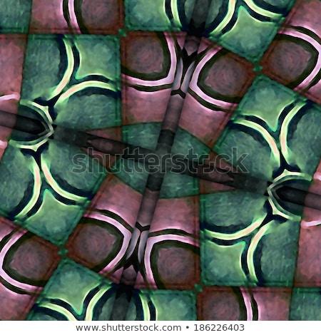 Naadloos meetkundig vintage patroon abstract ontwerp Stockfoto © CreatorsClub