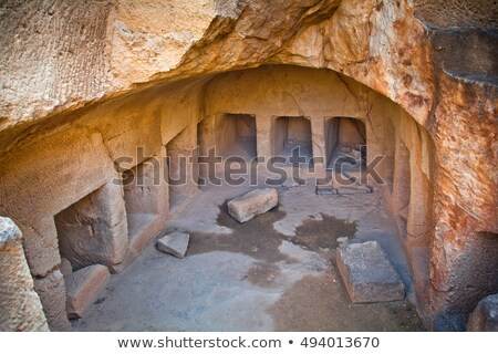 Tomb of the Kings, UNESCO World Heritage Site. Paphos, Cyprus Stock photo © Kirill_M