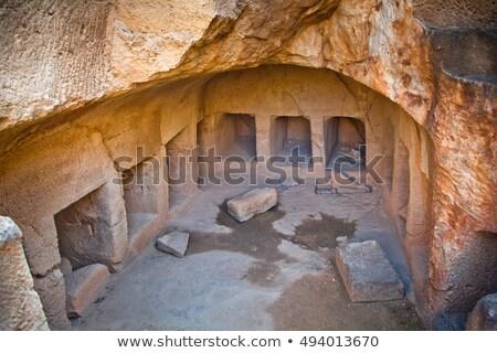 археологический · район · Кипр · небе · дороги - Сток-фото © kirill_m