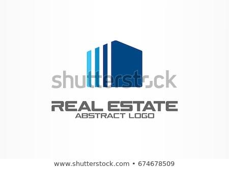 nagyító · álom · ház · üzlet · otthon · vásárlás - stock fotó © sarts