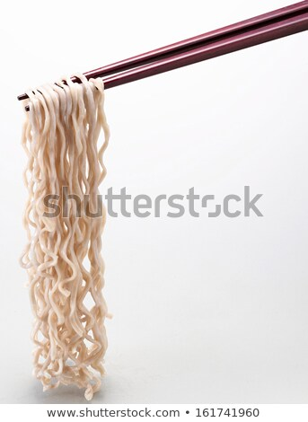 noodles with chop sticks Stock photo © get4net