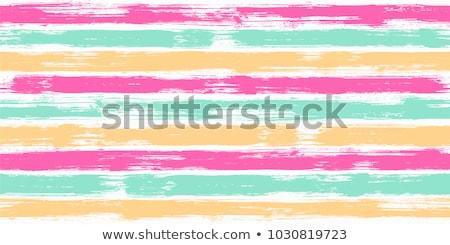 Stock fotó: Fényes · színes · fagylalt · végtelen · minta · fehér · étel