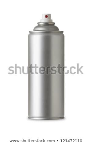 aluminium · spray · kan · geïsoleerd · witte · lichaam - stockfoto © kayros