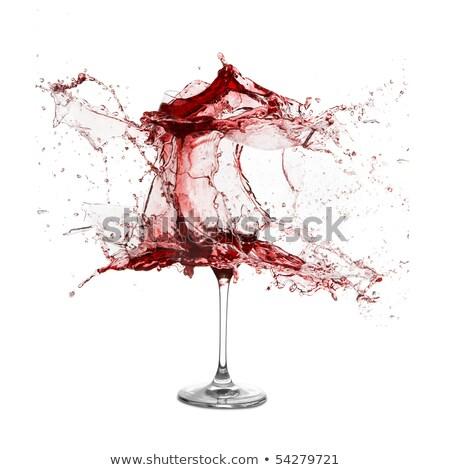 взрыв · стекла · изолированный · белый · xxl - Сток-фото © kayros