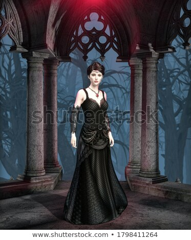 female vampire stock photo © kb-photodesign