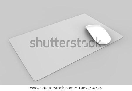 Műanyag asztal színes csíkos bakelit tárgy Stock fotó © Digifoodstock