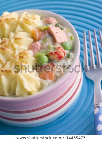 Individual Fish Pie Stock photo © monkey_business