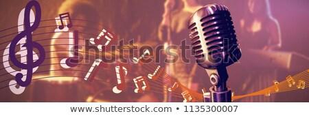 女性 歌手 マイク ナイトクラブ ストックフォト © wavebreak_media