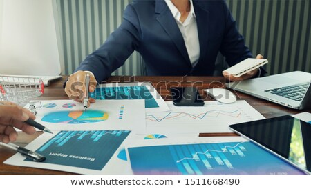 Business Growth Meeting Stock photo © Lightsource