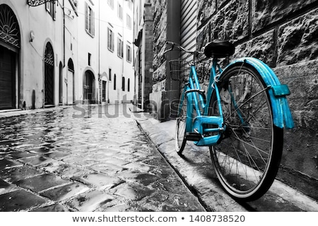 Bike wallpaper sport abstract metal arte Foto d'archivio © SnowCoyote