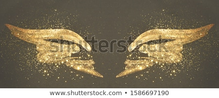 background with gold butterflies Stock photo © blackmoon979
