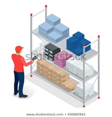 Warehouse Logistics on Clipboard. 3D. Stock photo © tashatuvango