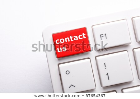 Foto stock: Sobre · nós · teclado · chave · homem · dedo