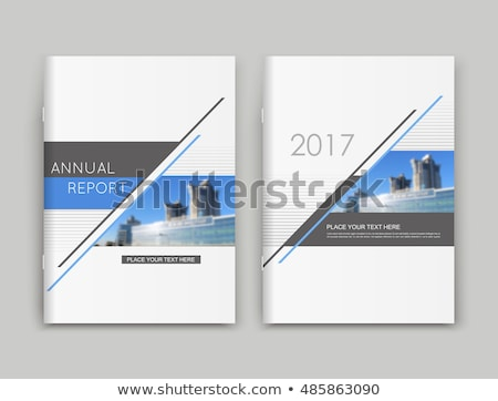 Financial Report Concept. Folders in Catalog. Stock photo © tashatuvango
