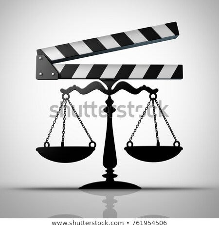 Intrattenimento legge media giustizia tv film Foto d'archivio © Lightsource