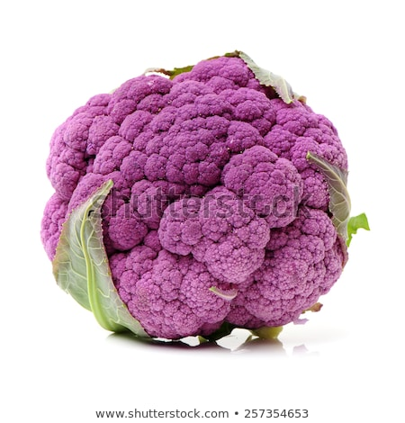 Fresh Purple Cauliflower Stock photo © zhekos