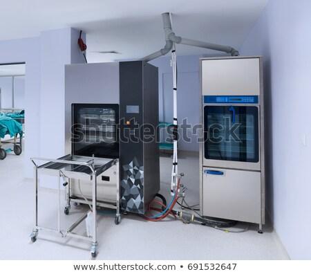 Hospital estéril corredor cirugía habitaciones moderna Foto stock © vilevi