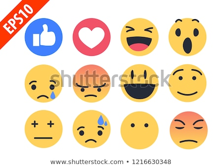 Love stickers, emoji, icons, emoticons, vector illustration. Stock photo © ikopylov