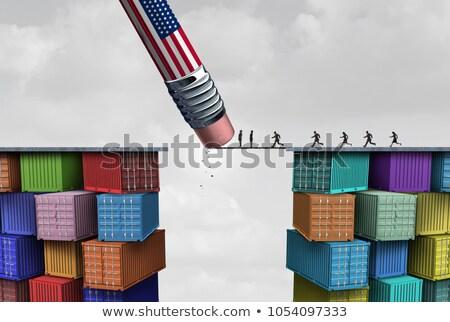 american trade sanctions stock photo © lightsource