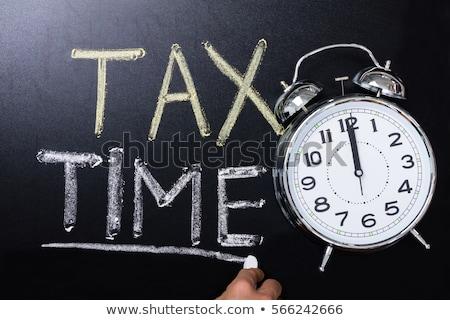 vergi · zaman · Klasör · kayıtlar · form · tablo - stok fotoğraf © unikpix