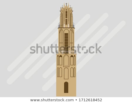 Dom Tower of Utrecht Stock photo © benkrut