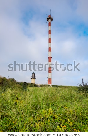 Heist Range Front Lighthouse in Belgium Stock photo © benkrut