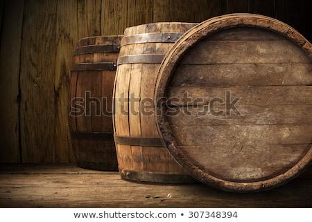wood wine barrels in a winery stock photo © daboost