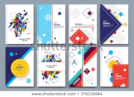 Logo grafisch ontwerp vak structuur abstract kunst Stockfoto © amanmana
