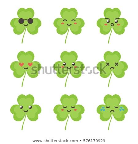 cartoon clover crying stock photo © cthoman