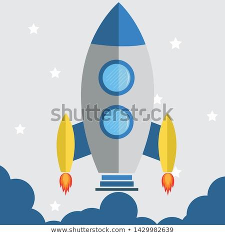 Ognia płomienie nowego niebieski ikona Internetu Zdjęcia stock © Ecelop