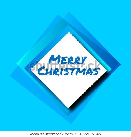 ajándék · karácsony · mikulás · kesztyű · doboz · íj - stock fotó © genestro