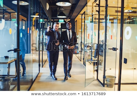 Parceiros de negócios escritório empresário equipe executivo jovem Foto stock © Minervastock