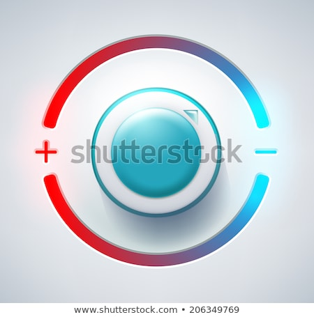 Wall thermostat with snow Stock photo © flariv
