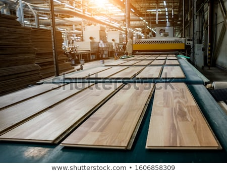 Woodworking wood processing machine, modern technology in the in Stock photo © cookelma