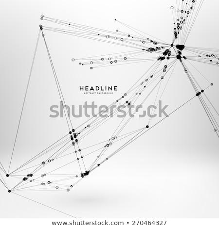 технологий массив проволоки аннотация медицинской Сток-фото © SArts