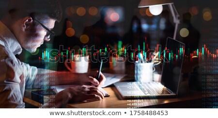stile · infografica · contabili · finanziare · web - foto d'archivio © robuart