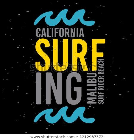 Tempo surfar mulher jovem conselho olhando Foto stock © Genestro
