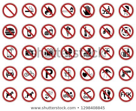 smartphone prohibition sign symbol Stock photo © romvo