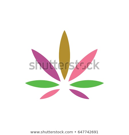 Gold leaf cannabis Stock photo © blackmoon979